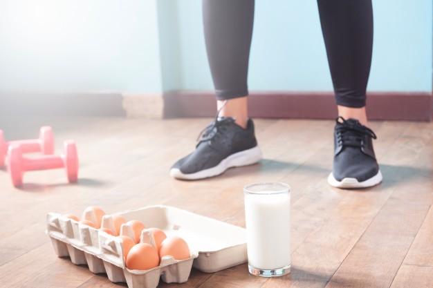 Cibo proteico e sport
