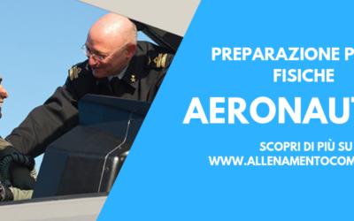 Preparazione Prove Fisiche Concorso Aeronautica