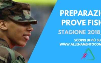 Preparazione prove fisiche concorsi Forze Armate a Milano